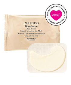 Best Facial Firming Product No. 6: Shiseido Benefiance Pure Retinol Instant Eye Treatment Mask, $17.50