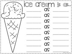 This is a great worksheet to teach similies! Worksheets