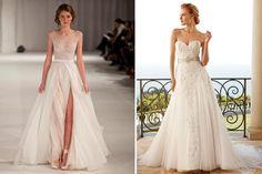 Vestido de novia corte A http://elblogdemariajose.com/tipos-de-vestidos-de-novia/ #bodas #elblogdemariajose #vestidosdenovia