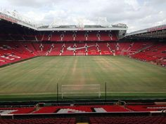 Preparing the Old Trafford pitch for the new season