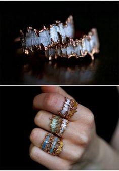 Dazzling Electroformed Jewelry by Kady Nossenko