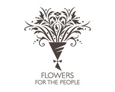 Flowers For The People Logo Design