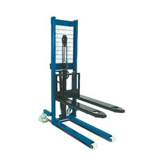 Manual Pallet Stacker Our Britruck Manual Pallet Stacker is a Heavy Duty Stacker which is ideally suited where space is restricted or confined but a load of is required to be manoeuvred.