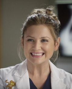 """Arizona Robbins (Jessica Capshaw) - """"Don't be fooled by the rollerskates. Peds is hardcore."""""""