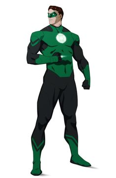Justice League Animated, Green Lantern Hal Jordan, Comic Books Art, Book Art, Action Poses, New Green, Awesome Anime, Animation Series, Dc Universe