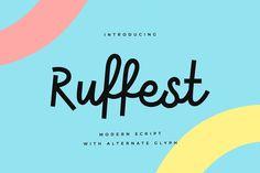 Ruffest by vuuuds on @creativemarket