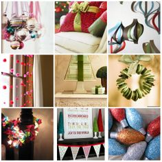 20 Easy and Frugal Christmas and Holiday Decor Projects....that look modern and stylish.
