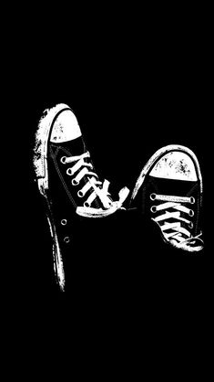 sneakers black and white wallpaper Black And White Wallpaper Iphone, Black Background Wallpaper, Walpaper Black, Dark Wallpaper, Black Backgrounds, Desktop Backgrounds, Mobile Wallpaper, Black Desktop, Background Images