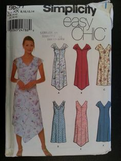 Simplicity 9631 Misses Easy Chic Summer  by Noahslady4Patterns