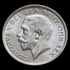 1916 George V Silver Shilling – A/BU
