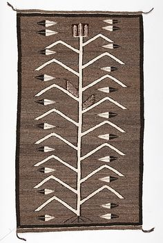 Navajo Pictorial Weaving / Rug from the Historic Glen Isle Resort, Bailey, Colorado (1/14/2016 - American Indian and Western Art: Timed Online Auction - ends 1/25)
