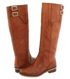 brown leather boots Love these boots!