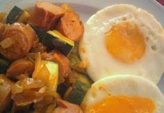 Main Dishes, Bacon, Eggs, Healthy Recipes, Healthy Food, Breakfast, Main Course Dishes, Healthy Foods, Morning Coffee