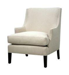 "Linda Chair Linda Chair 39H x 29W x 34D Arm Height: 24.5"" | Seat Height: 19"" | Seat Depth: 23"""
