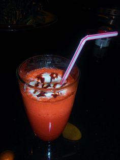 Red Velvet Frozen Hot Chocolate