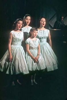 The Lennon Sisters (Diane, Kathy, Peggy, & Janet) on the Lawrence Welk Show every Saturday night. My Childhood Memories, Sweet Memories, The Lawrence Welk Show, The Lennon Sisters, Vintage Tv, Vintage Stuff, Vintage Dolls, Vintage Photos, This Is Your Life