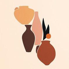 - A r t o r s o m e t h i n g - Minimalismus İdeen Abstract Shapes, Abstract Pattern, Abstract Art, Kunst Inspo, Art Inspo, Art And Illustration, Creative Illustration, Creative Logo, Creative Art