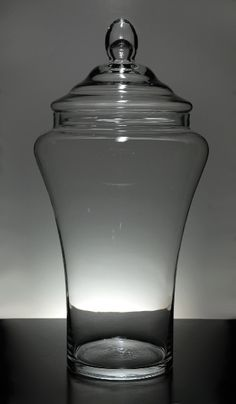 22 in. Large Glass Apothecary Jars $25 each @ Save-on-crafts.com