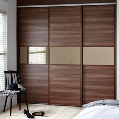Describing Sliding Bedroom Doors As Ideas For Your Home Interior. Find Sliding Bedroom Doors And Others About Door, Floor, Table, Or Anything About Home Interior Here Bedroom Furniture Design, Luxury Bedroom Design, Bedroom Cupboard Designs, Bedroom Closet Design, Luxurious Bedrooms, Room Door Design, Wardrobe Door Designs, Sliding Door Wardrobe Designs, Furniture Design