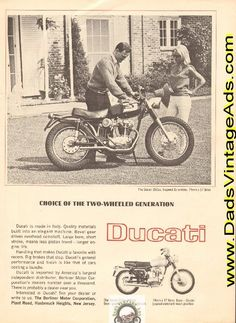 1965 Ducati 250cc 5-speed Scrambler – choice of the two-wheeled generation