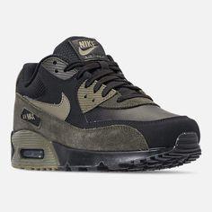online retailer ffffa 0029d Nike Mens 90 Leather Running Shoes Mens Nike Air, Nike Men, Nike Air Max