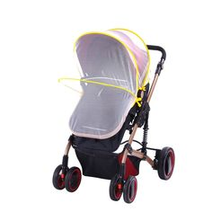H28 Baby Universal Trolley Carriage Mosquito Net Insect Shield Infant's Safe Net New