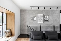 Modern Industrial House Incorporates A Cozy and Livable Feel With Exclusive Raw Materials