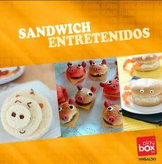 Sandwich entretenidos,  preparalos para la hora del té de tus hijos.
