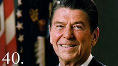 """Ronald Reagan, originally an American actor and politician, became the 40th President of the United States serving from 1981 to 1989. His term saw a restoration of prosperity at home, with the goal of achieving """"peace through strength"""" abroad."""