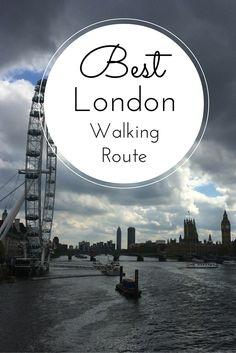 Best London walking route