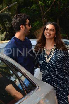 Deepika, Ranbir and Imtiaz at the trailer launch of 'Tamasha' | PINKVILLA
