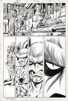 Hawkman Volume 4 #26 Vampire Issue JOHN BYRNE ART - W.B.