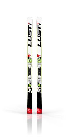 lusti junior race ski design