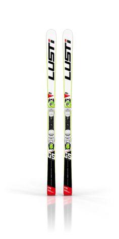 lusti junior race ski design