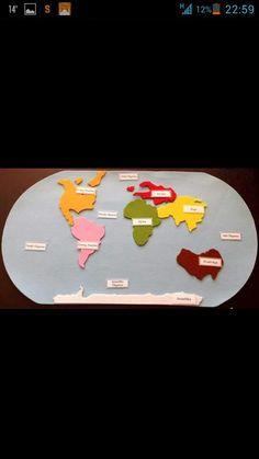 Kitalar Sistema Solar, Classroom Decor, Montessori, Kindergarten, Preschool, Activities, Geography, Solar System, Kinder Garden