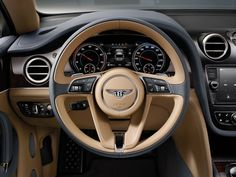 New Bentley Bentayga SUV Officially Revealed In 37 Pics & Videos
