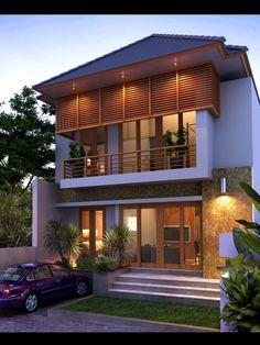 Contoh Desain Rumah Villa Bali