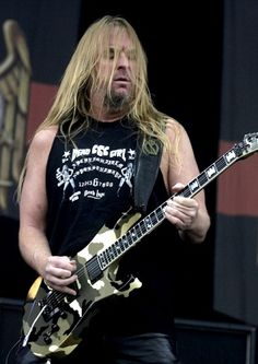 Guitarist suffered liver failure Jeff Hanneman, guitarist and founding member of the thrash-metal group Slayer, died on Thursday, a spokeswoman for the group told TheWrap. He was 49.  May 02, 2013 @ 4:19 pm