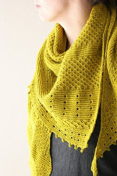 Ravelry: Mairlynd's Ingwer shawl                                                                                                                                                                                 More