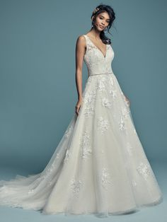 7da3c4f51cec Wedding Dresses  Illustration Description Maggie Sottero – MERYL LYNETTE