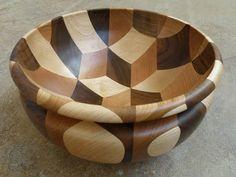Woodturning - Tumbling Bowl - YouTube