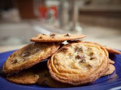 Malted Milk Chocolate Chip Cookies from FoodNetwork.com