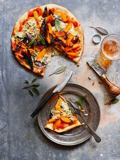 Feta and Roasted Pumpkin Pizza - Photography by Ian Wallace - simple recipes - Feta and Roasted Pumpkin Pizza – Photography by Ian Wallace You are in the right place about pizza - Comida Pizza, Pizza Food Truck, Sauce Pizza, Food Porn, Pizza Casserole, Food Photography Tips, Eat Fat, Pizza Hut, Restaurant Recipes