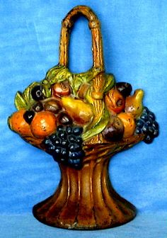 FRUIT BASKET ALBANY FOUNDRY DESIGN #121