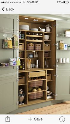 Magnificent Traditional Kitchen by Yorkshire And The Humber Kitchen Designers & Remodelers Holme Design The post 10 Kitchen Pantry Ideas for Your Home appeared first on Interior Designs . Kitchen Pantry Design, Kitchen Organization, New Kitchen, Kitchen Ideas, Kitchen Hacks, Organization Ideas, Awesome Kitchen, Kitchen Country, Hidden Kitchen