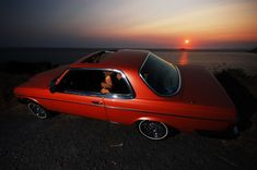 My dream Mercedes - 1980 Diesel Coupe in Inca Red Metallic Mercedes Benz Coupe, Mercedes 280, Classic Mercedes, Mercedes Benz Cars, Diesel, Cool Cars, Old School, Metallic, Red