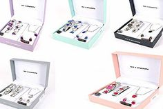 TopDeals4You Ladies Gift Set Jewellery Birthday Present Includes Necklace, Earings