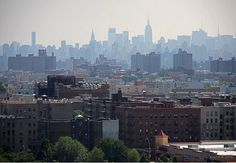 View of Bronx housing -- Women's eNews published one of the essays in my memoir last July ... great start ... Behlor