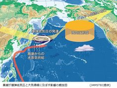 サイエンスジャーナル : 暴風雪もたらす爆弾低気圧、黒潮の熱エネルギーで発生していた!JAMSTECがスパコンで解析