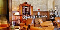 Château de Mirambeau: The castle has its own room dedicated to wine and cognac tastings.